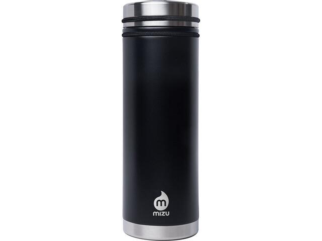 MIZU V7 Botella con aislamiento con V-Lid 650ml, enduro black